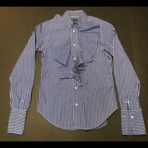 Ralph Lauren Ruffled Button Up